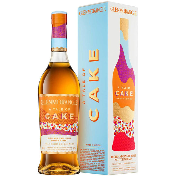 Glenmorangie Whisky - Tale of Cake (70cl, 46%).