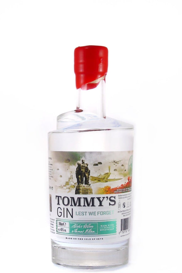 Misty Isle - Tommy's Gin (70cl, 45%).