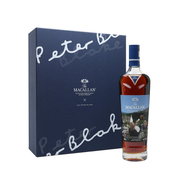 The Macallan Sir Peter Blake: An Estate, A Community, and A Distillery (70cl, 47.7%).