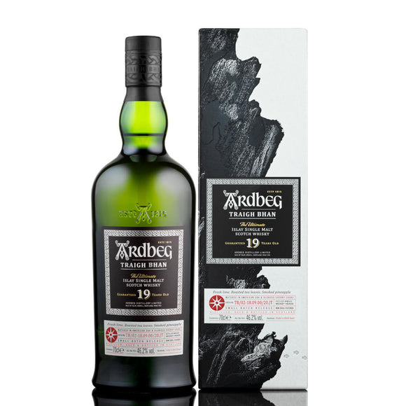 ARDBEG 19 YEAR OLD TRAIGH BHAN BATCH 2 (70cl, 46.2%).
