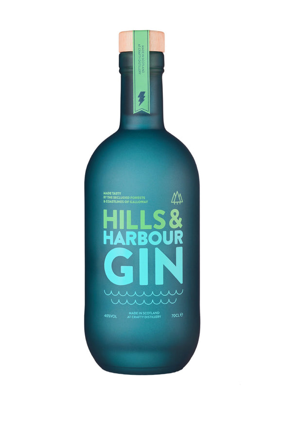Hills and Harbour Gin (70cl, 40%).