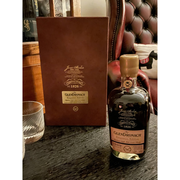 GLENDRONACH KINGSMAN 1989 EDITION (70cl, 50.1%)