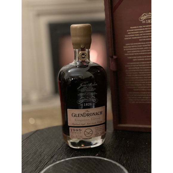 Glendronach Kingsman 1989 Edition (70cl, 50.1%).