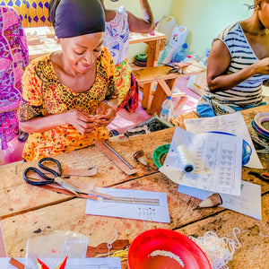 Tanzanian artisans who make this product under fair trade practices