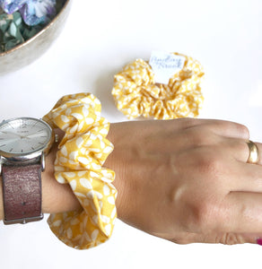 Pop Yellow Scrunchie Made in the USA