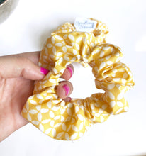 Load image into Gallery viewer, Pop Yellow Scrunchie Made in the USA