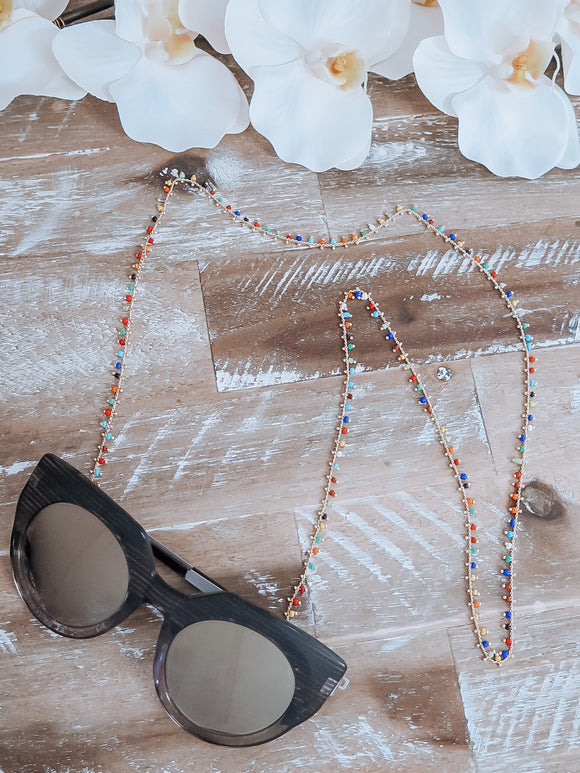 Summer Rainbow Sunglasses Chains