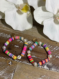 Personalized Rainbow Bracelets