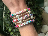 Faith, Hope and Love Bracelets