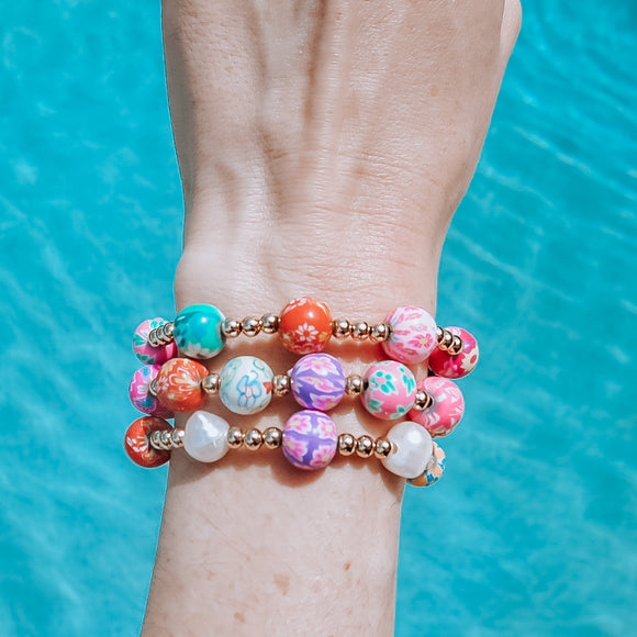 Summer Vibes Bracelets Set of 3