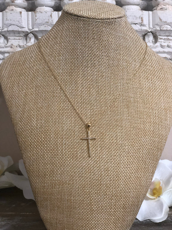 Everyday Cross Necklace