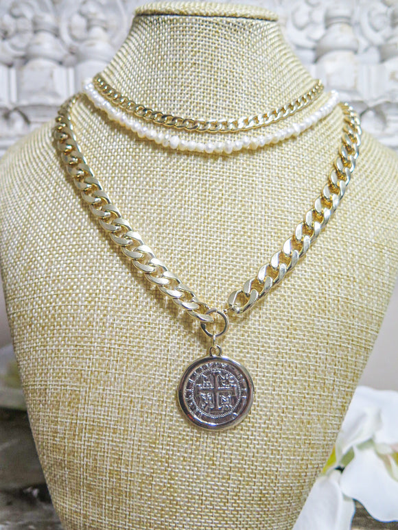 Cuban Chain with Coin