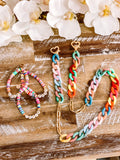 Teach, Pray, Love Rainbow Bracelets
