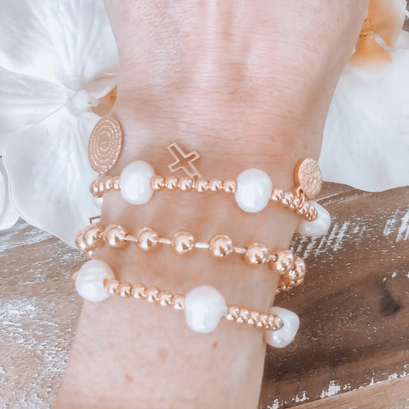 Bauble Ball Bracelet with Clasp