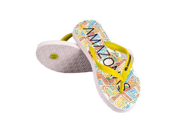 Kids Yellow Design Sandals