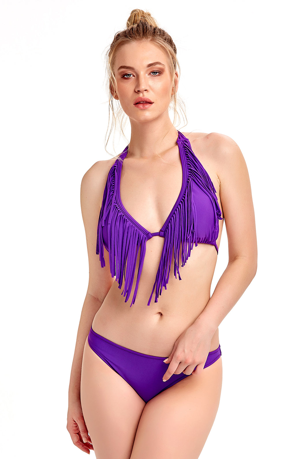 Triangle Bikini - Purple