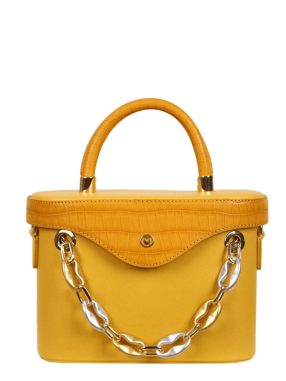 Mademoiselle Ginny Hand and Shoulder Bag - Yellow