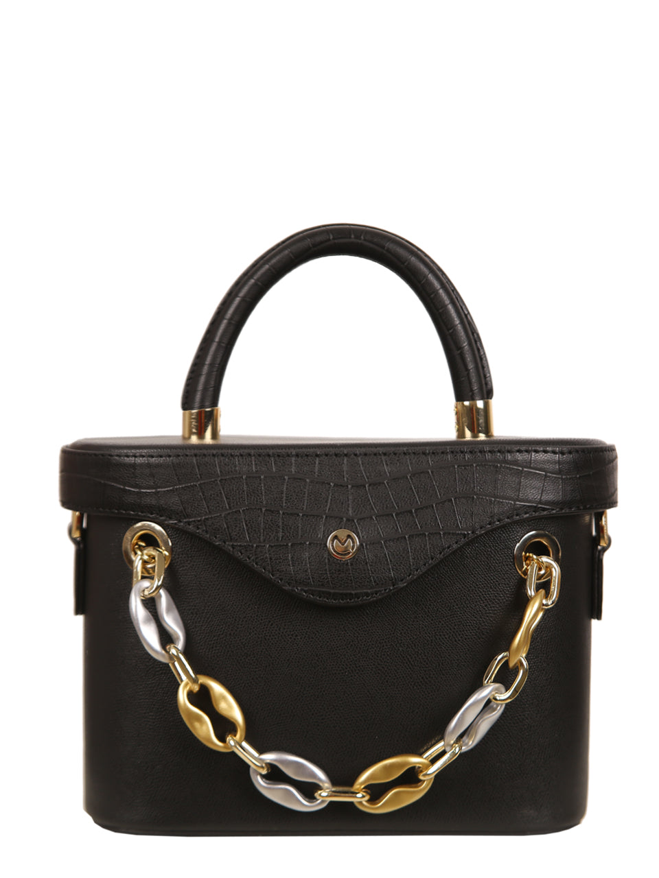 Mademoiselle Ginny Hand and Shoulder Bag - Black