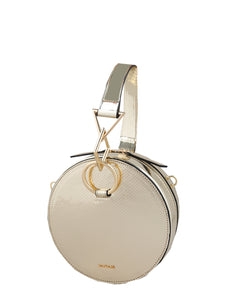 Mademoiselle Susan Hand and Shoulder Bag - Gold