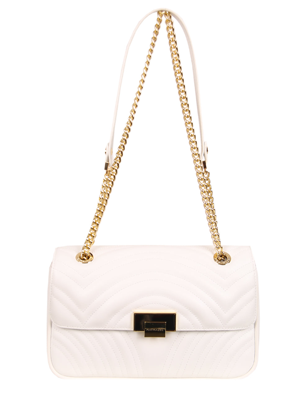 Mademoiselle Happy Shoulder Bag - White