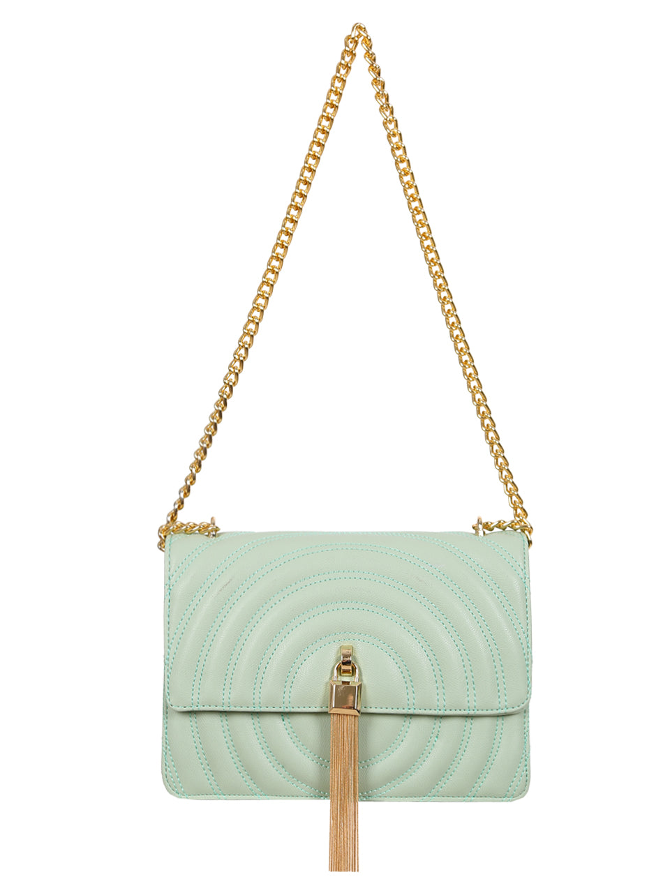 Mademoiselle Polly Shoulder Bag - Green
