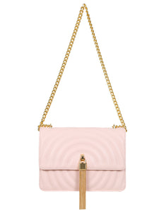 Mademoiselle Polly Shoulder Bag - Pink
