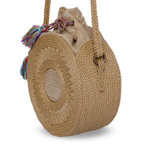 Round Rope Bag with Strap
