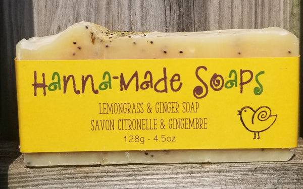 Lemongrass & Ginger Soap
