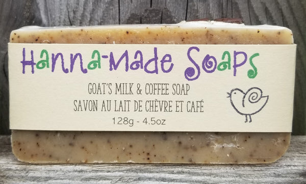 Goat's Milk & Coffee Soap