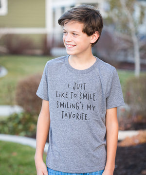 'I Just Like to Smile' Tee