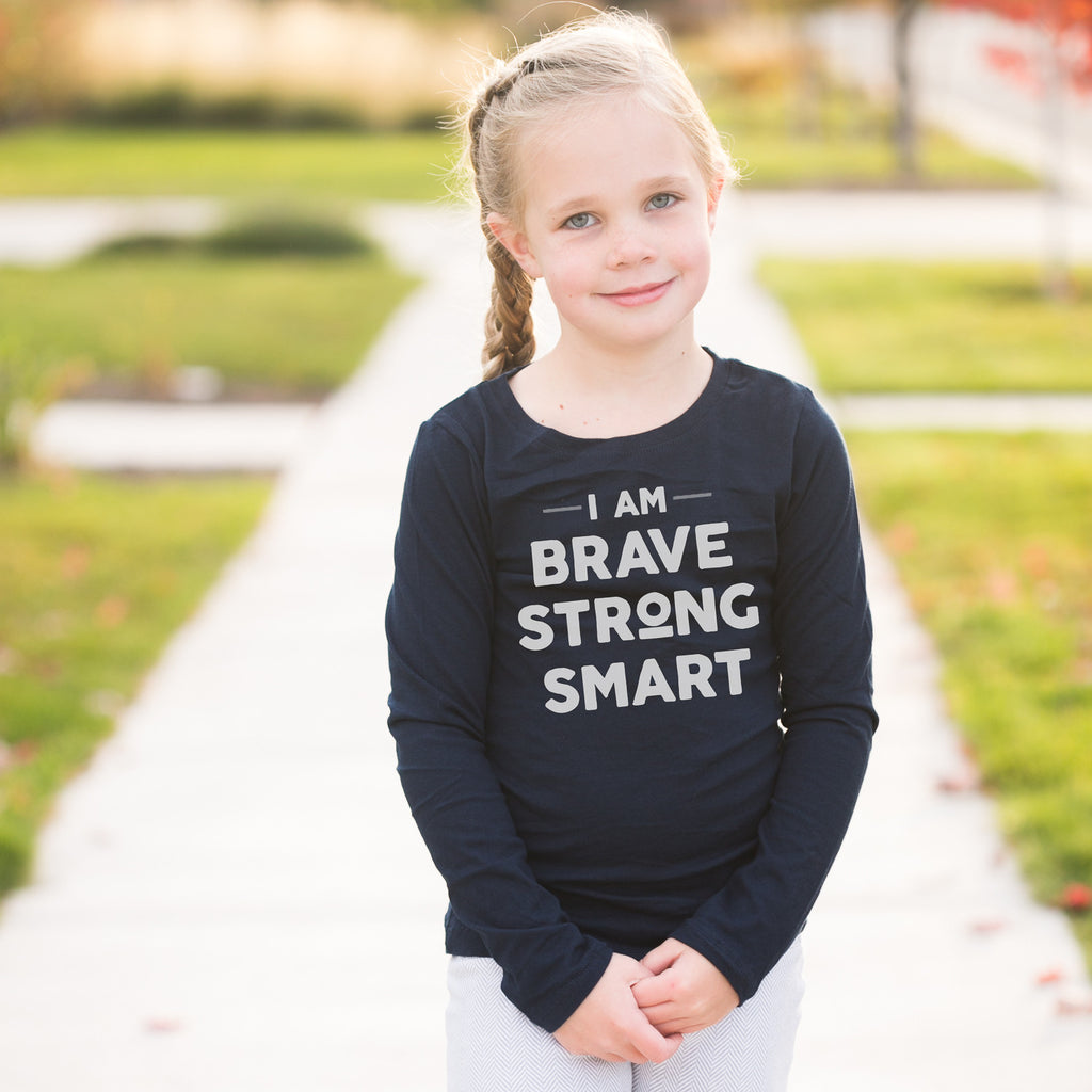 'I Am Brave, Strong, Smart' Tee