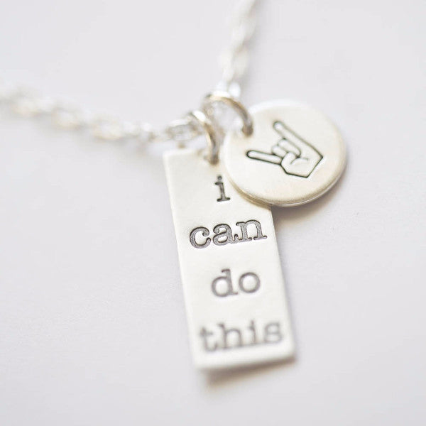 'I Can Do This' Charm