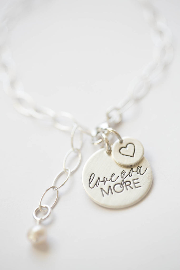 'Love You More' Charm