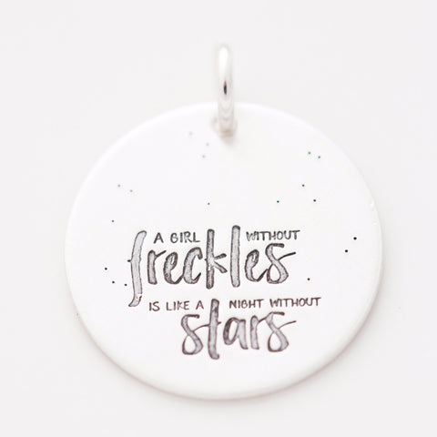 'Freckles and Stars' Charm