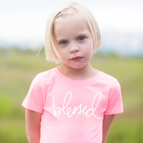 'Blessed' by Heidi Swapp™ Girls Tee