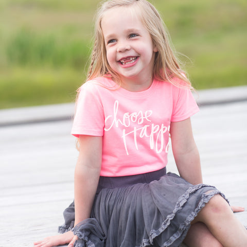 'Choose Happy' by Heidi Swapp™ Girls Tee