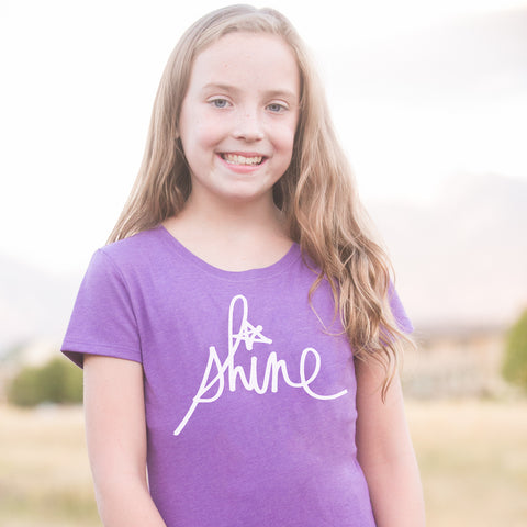 'Shine' by Heidi Swapp™ Girls Tee