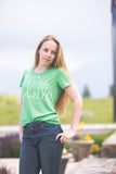 'Hello' by Heidi Swapp™ Slim Fit Tee