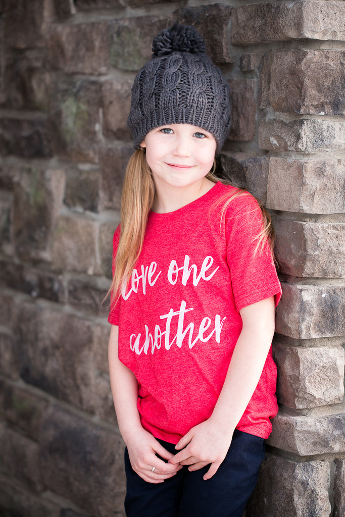 'Love One Another' Kids' Unisex Tee