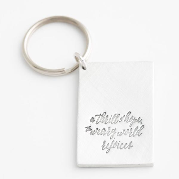 'O Holy Night' Keychain NEW