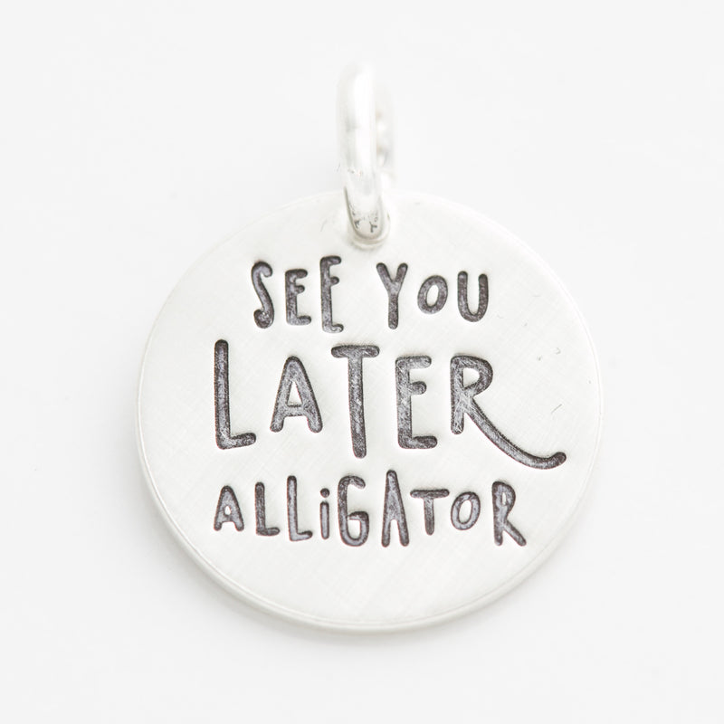 'See You Later, Alligator' Charm