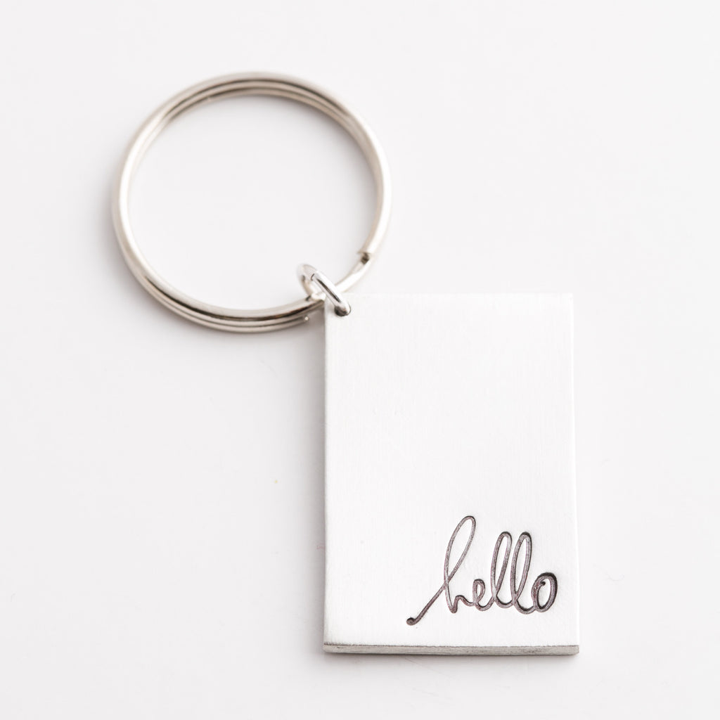 'Hello' by Heidi Swapp™ Key Chain