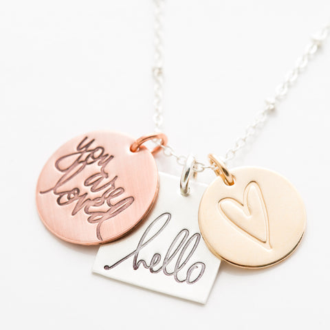 'You Are Loved' by Heidi Swapp™ Charm Necklace