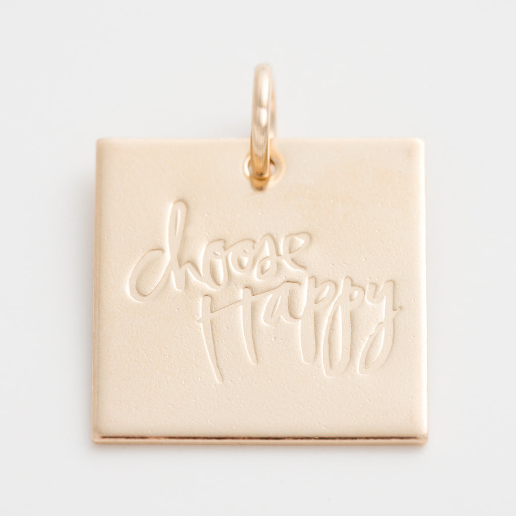 'Choose Happy' by Heidi Swapp™ Charm