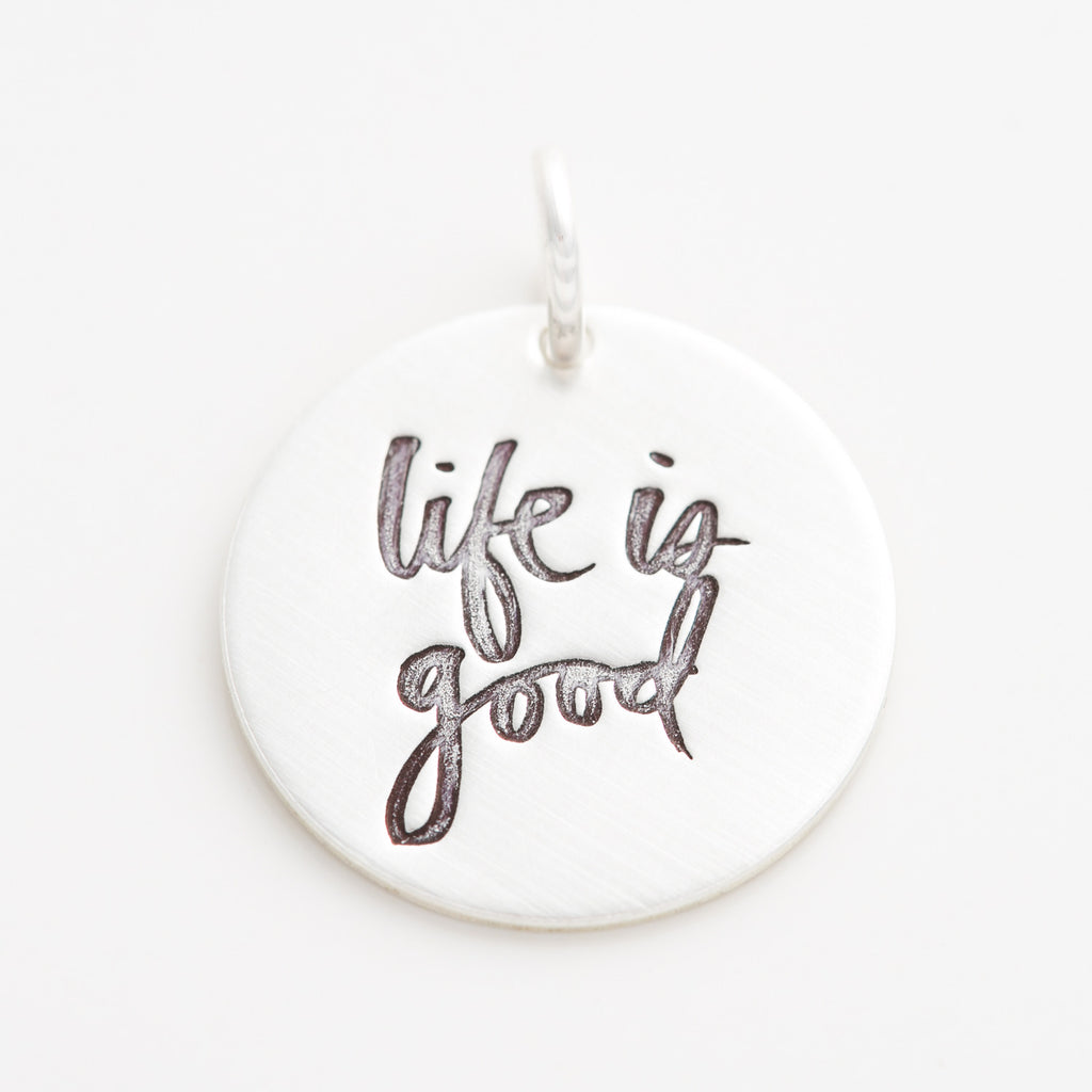 'Life is Good' by Heidi Swapp™ Charm