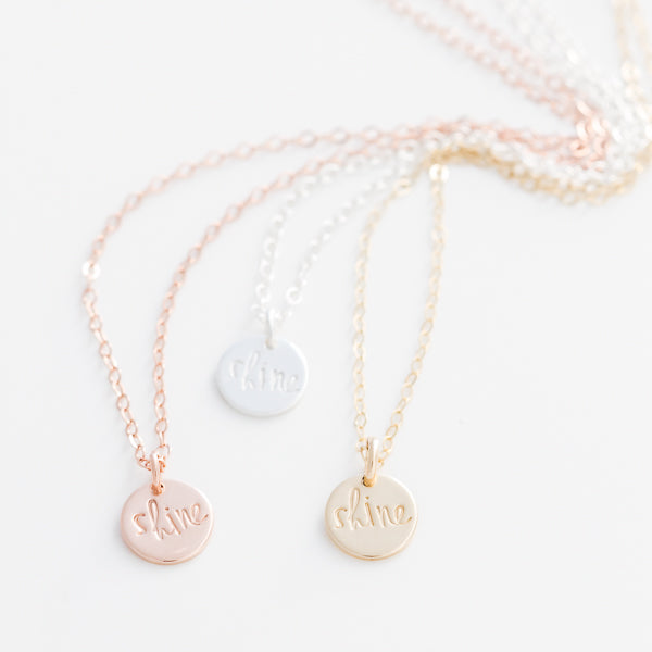 'Light' Necklace - Charity For O.U.R.