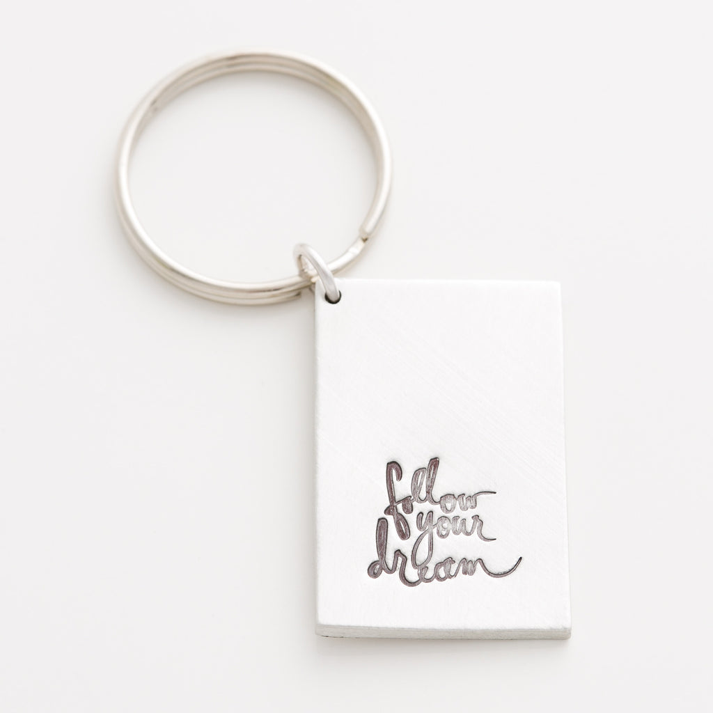 'Follow Your Dream' Heidi Swapp™ Key Chain
