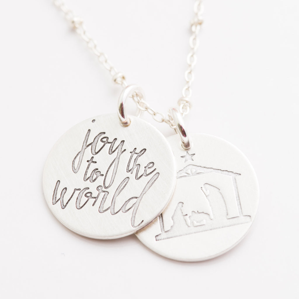 'Joy to the World' Charm