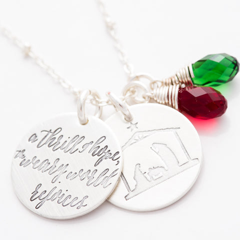 'A Thrill of Hope' Necklace