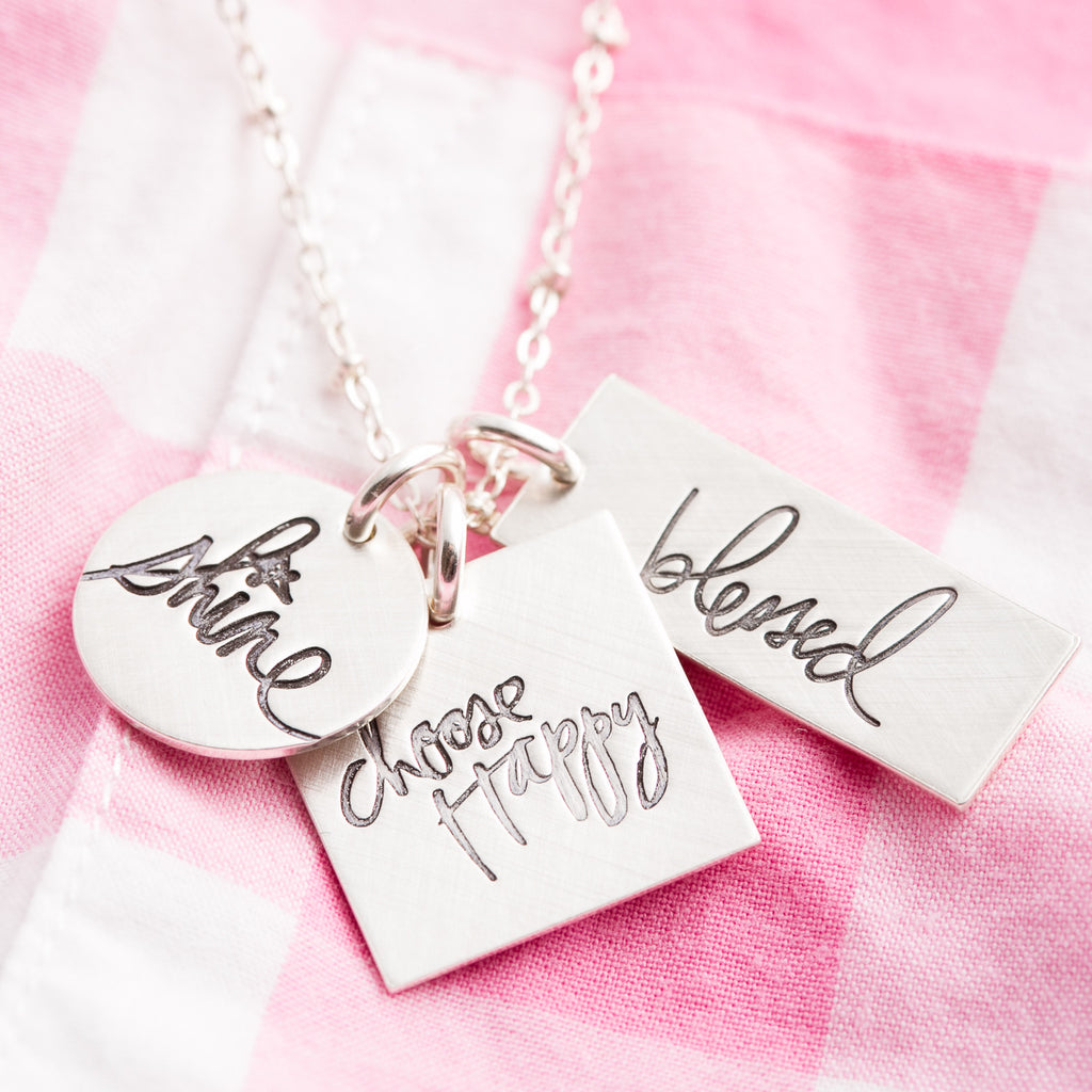 'Choose Happy' by Heidi Swapp™ Charm Necklace